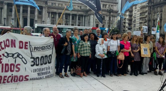 """EMVyJ: """"Manifestar no es un delito, es un derecho"""""""
