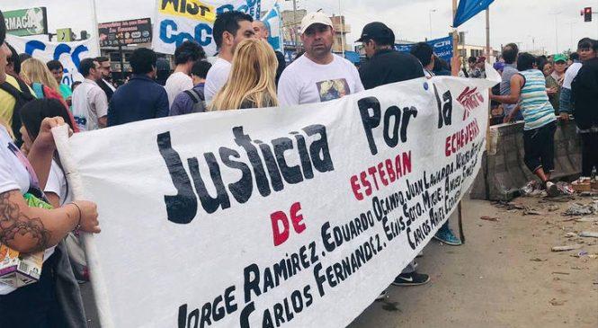 Marcha y reclamo de justicia por los nueve muertos en la Masacre de Esteban Echeverría