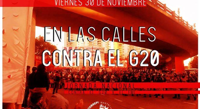 #30N – ¡Fuera el G20!