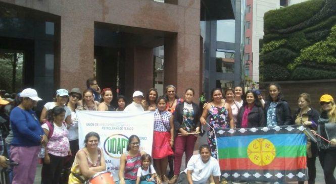 Manifiesto de mujeres latinoamericanas afectadas por Chevron