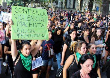 Hartas: el movimiento feminista copó las calles por #JusticiaPorLucia