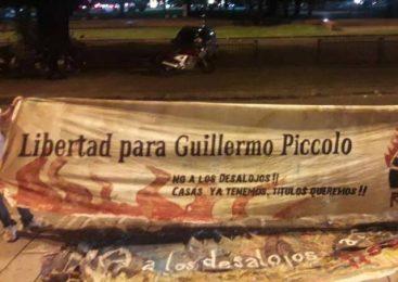 Viernes 7: concentración y audiencia por la libertad de Guillermo Píccolo