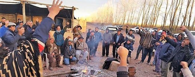 Procesamiento a autoridades originarias de la Confederación Mapuche