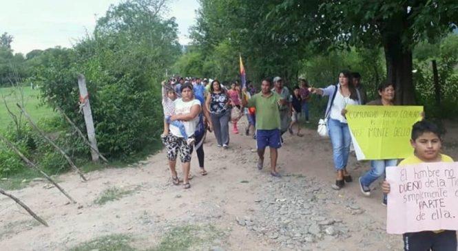 La comunidad indígena Indio Colalao marchó para exigir la restitución de tierras