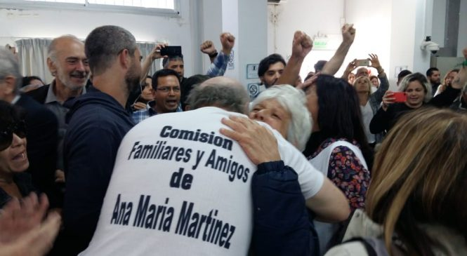 Juicio Ana María Martínez: prisión perpetua para los dos imputados