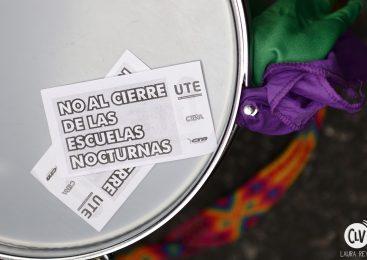 Fotogalería: No al cierre de las escuelas nocturnas