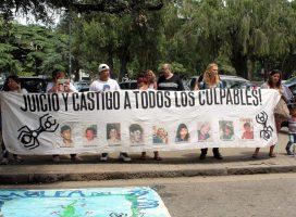 Actos y marcha a 17 años de la rebelión popular y masacre