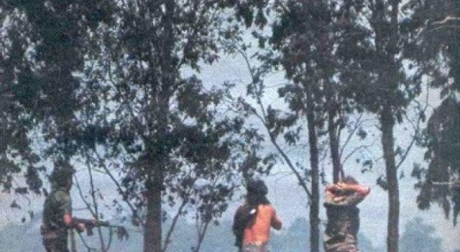 Desaparecidos de La Tablada — Día 2 — El de atrás es de ellos
