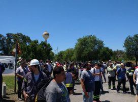 Protesta metalúrgica en Villa Constitución por intento de flexibilización