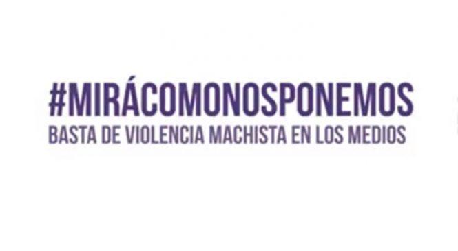 #MiraComoNosPonemos ¡Basta de violencia machista en los medios!