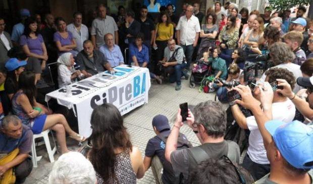 El SiPreBA expresó su repudio a la represión a trabajadores de los medios públicos
