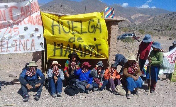 """El mensaje de Cueva del Inca: """"Dejar el miedo, estar de pie y no vivir soportando lo que nos pasa"""""""