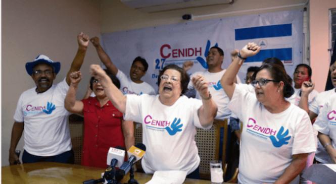 Quieren borrar los expedientes de crímenes sexuales tras la cancelación de la personería jurídica del Centro Nicaragüense de Derechos Humanos (Cenidh)
