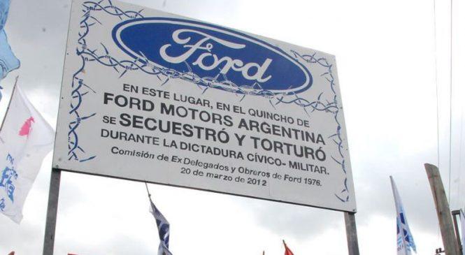 Causa Ford: condenas de 10, 12 y 15 años