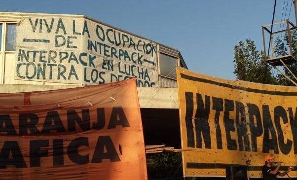 Interpack: plenario obrero resuelve intensificar la lucha