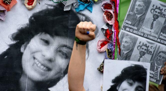 Marcha por el femicidio de Lucía Pérez