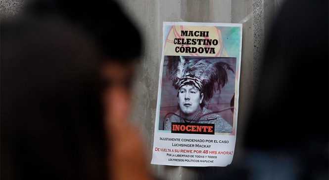 Presos políticos mapuches