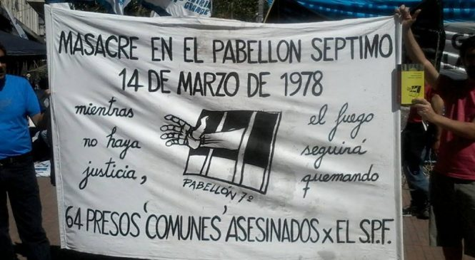 Cuatro detenidos por la masacre del pabellón séptimo