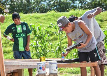 Una huerta agroecológica de la comunidad qom crece