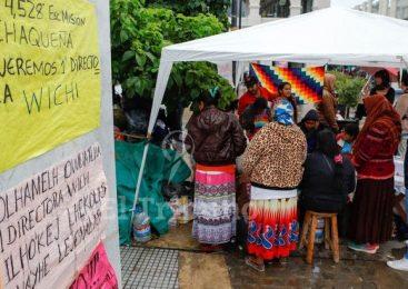 Se viven horas clave en la protesta de la comunidad wichi