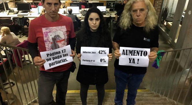 Víctor Santa María echa a periodista de AM750 por su actividad gremial como delegada en Página/12