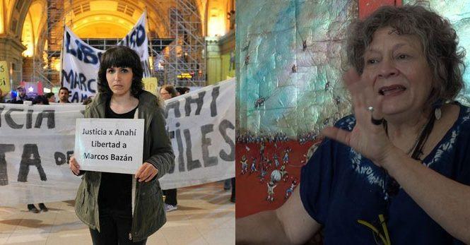 Rita Segato y la libertad a Marcos Bazán