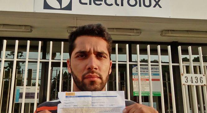 Despedido de Electrolux pide volver al trabajo: no le sirve la indemnización
