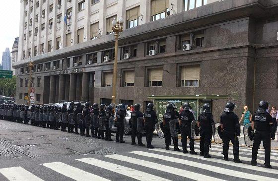 La CTA Autónoma denuncia censura y militarización en Plaza de Mayo