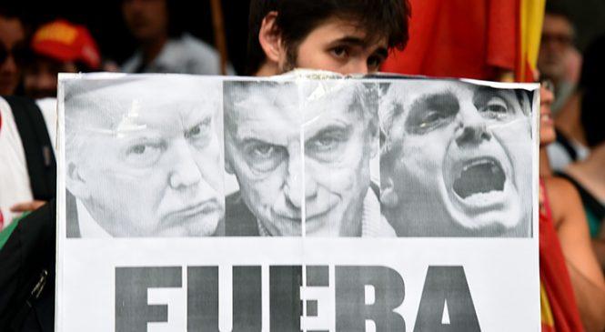 Acto contra la injerencia en Venezuela