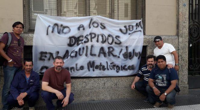 Fundición Aguilar: negociación en suspenso con los trabajadores afuera
