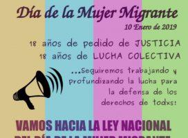 Día de la mujer migrante