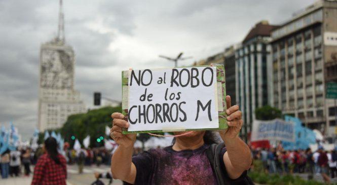 Marcha en Ciudad de Buenos Aires contra los tarifazos
