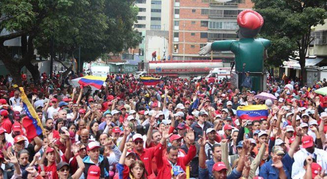 En Venezuela se disputa no sólo su soberanía y autodeterminación