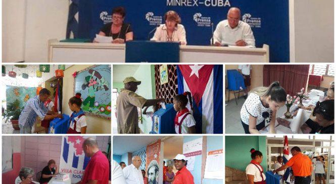 Cuba: casi siete millones de cubanos votaron a favor de la nueva Constitución