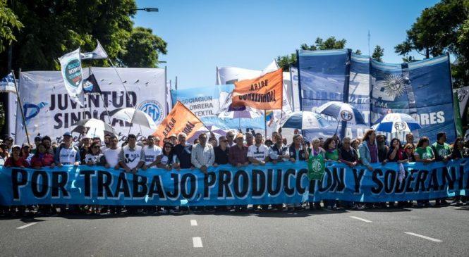 Protestas y marchas en Jornada Nacional contra el ajuste y los tarifazos