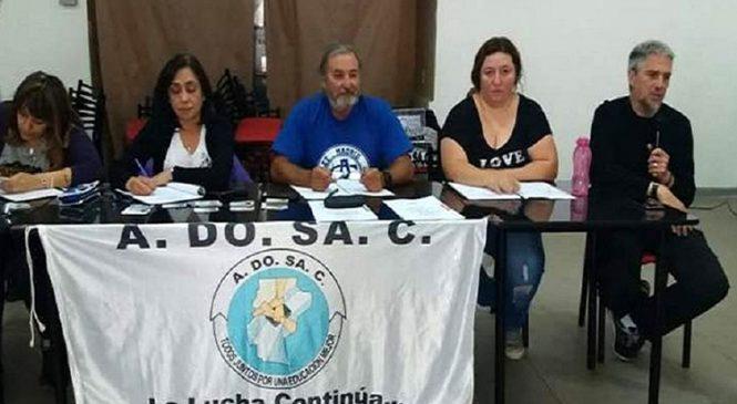 ADOSAC decidió el no inicio el ciclo lectivo en Santa Cruz