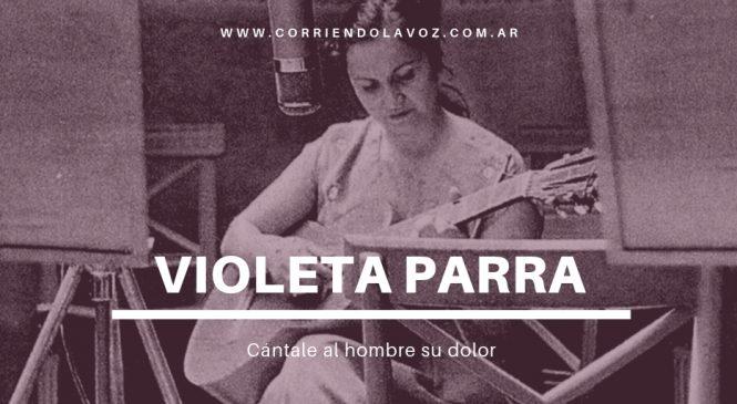 Cántale al hombre su dolor, Violeta