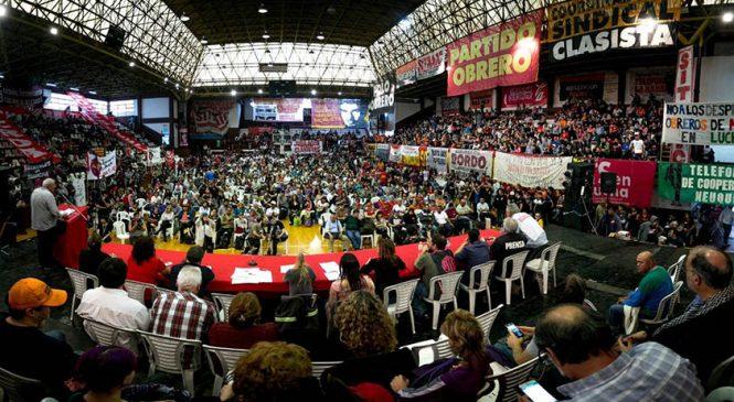 El 14 de febrero el sindicalismo combativo gana las calles