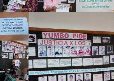 Marcha en Yumbo, Colombia: Jus7icia x los 7 y por la vida de todos