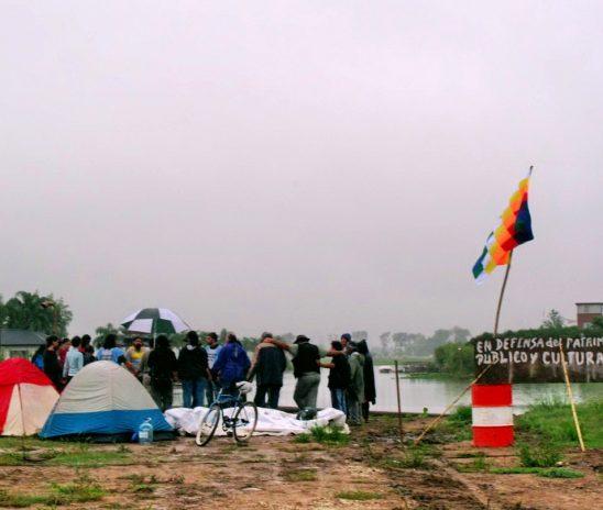 """A nueve años del """"campamento"""" en defensa de Punta Querandí: la primera victoria contra EIDICO"""