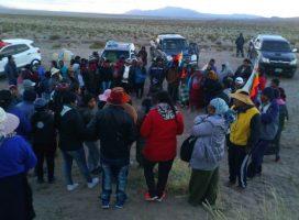 Salinas Grandes: la asamblea decidió mantenerse en vigilancia de su territorio