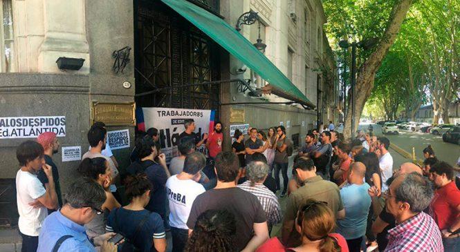 Despidos en Atlántida: asamblea permanente hasta el viernes 8 y acto el lunes 11
