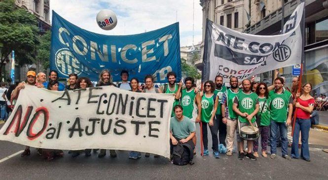 CONICET no abonó el aumento acordado a Becarios y Becarias