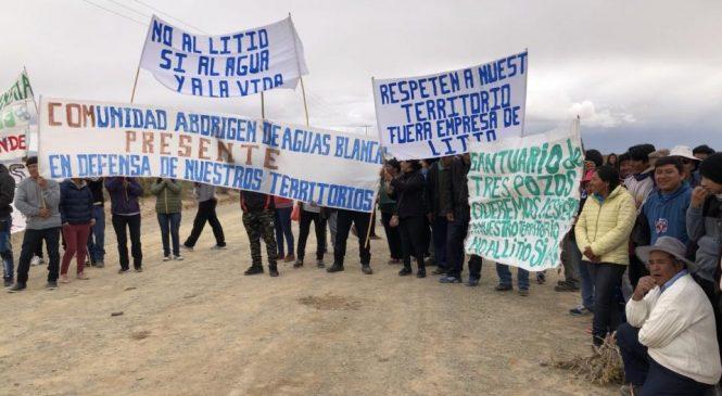 """Litio y """"sacrificio ambiental"""": comunidades jujeñas resisten a las grandes mineras"""