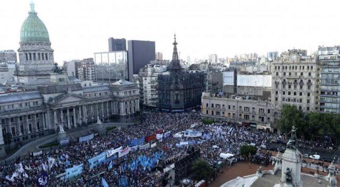 Archivan causa contra detenidos en la marcha por el Presupuesto 2019