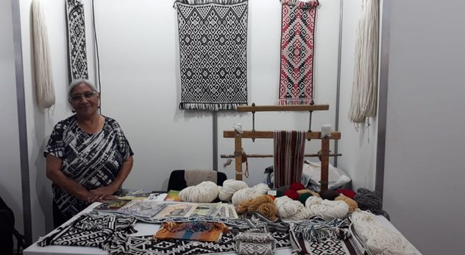 Ermelinda Painequeo: 20 años participando en la Feria de Artesanías de Cosquín