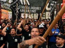 Movilización del Plenario Sindical Combativo