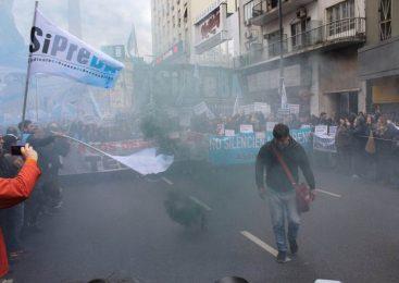 Télam: acto contra el congelamiento salarial, la censura y la persecución penal a los trabajadores