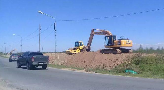 Otra vez, vecinos de Villa La Ñata se ven afectados por la construcción de un country
