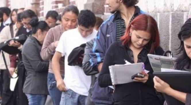 Durante el 2018 hubo más de mil desocupados nuevos por día